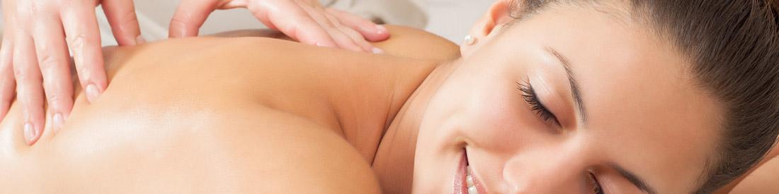 lady getting massage